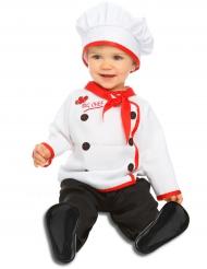 Disfraz chef cocinero bebé