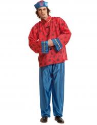Disfraz chino rojo hombre