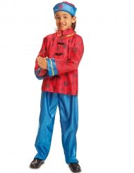 Disfraz chino rojo niño