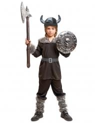Disfraz Vikingo negro para niño