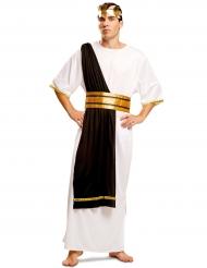 Disfraz romano negro y blanco hombre