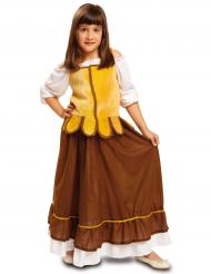 Disfraz tavernera medieval niña