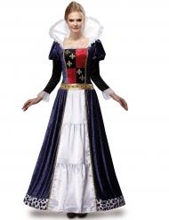 Disfraz reina de lujo mujer