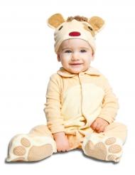 Disfraz oso con chupete lujo bebé