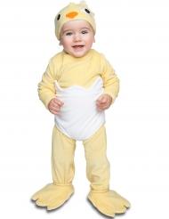 Disfraz de pollo con chupete lujo bebé