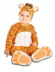 Disfraz de tigre con chupete lujo bebé