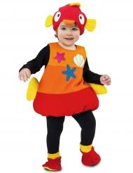 Disfraz pequeño pez tropical bebé