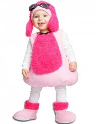 Disfraz perro rosa bebé