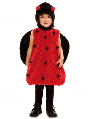 Disfraz mariquita niña