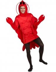 Disfraz langosta roja adulto