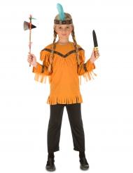 Disfraz india con accesorios niño