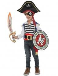 Disfraz pirata con accesorios niño