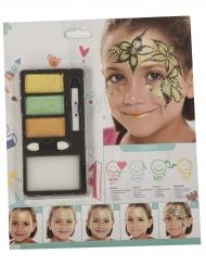 Maquillaje princesa del bosque niña