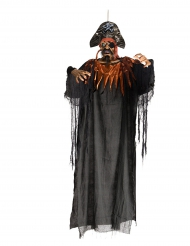Decoración paara colgar pirata luminoso 170 cm Halloween