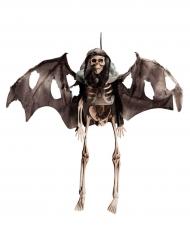 Esqueleto en vuelo para colgar Halloween