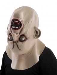 Máscara monstruo cabeza inversa adulto Halloween