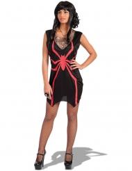 Disfraz bruja araña roja mujer Halloween