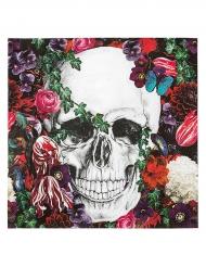 20 servilletas de papel Día de los muertos 33 cm