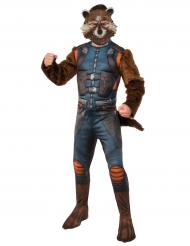 Disfraz con máscara Rocket Raccoon™Los guardianes de la galaxia 2™adultos