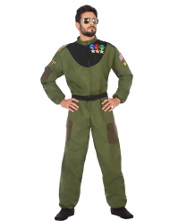 Disfraz aviador militar hombre