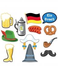 Kit photocall 10 piezas Oktoberfest
