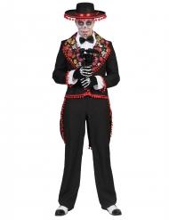 Disfraz mexicano romántico hombre Día de los muertos