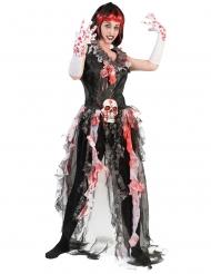 Disfraz novia ensangrentada mujer Halloween