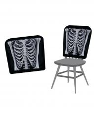 Fundas de sillas esqueleto 38 x 48 cm Halloween