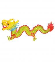 Decoración dragón colorido 100 cm Año Nuevo chino