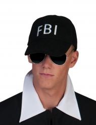 Gorra FBI negra adulto
