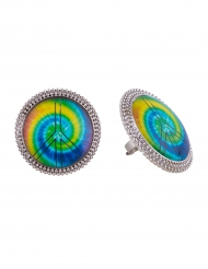Anillo hippie multicolor adulto