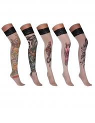 Medias tatuaje adulto