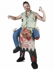 Disfraz carry me zombie adulto Halloween