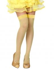 Medias amarillas mujer