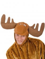 Gorro reno peluche adulto Navidad