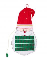 Calendario del adviento fieltro 70 cm Navidad