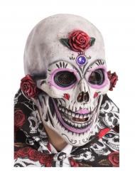 Máscara esqueleto maquillado adulto Día de los muertos