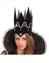 Corona reina negra adulto