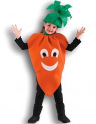 Disfraz zanahoria niña
