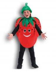 Disfraz fresa niña