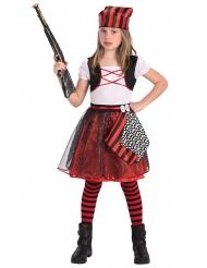 Disfraz pirata niña brillante