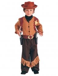 Disfraz cowboy del oeste niño