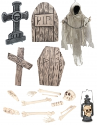 Kit esqueleto lujo Halloween