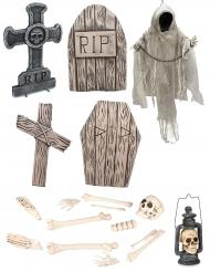 Kit esqueleto lujo Halloween