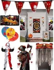Kit payaso maléfico Halloween