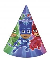 6 Gorros de fiesta PJ Masks™