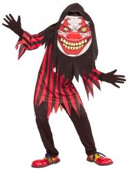 Disfraz payaso cabeza grande adolescente Halloween
