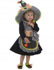 Disfraz bruja multicolor bebé