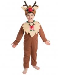 Disfraz de reno de Navidad niño