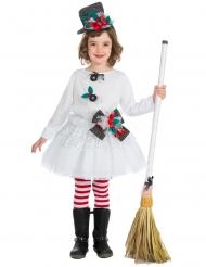 Disfraz muñeca de Navidad niña